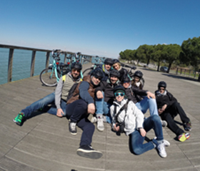 Cycling Venice Lagoon