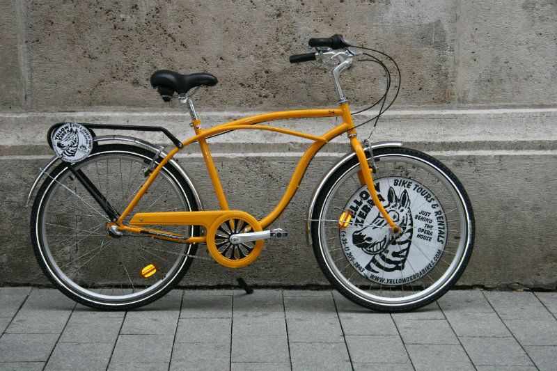 Yellow Zebra Bike Hire
